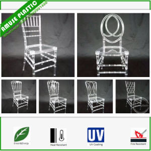 Plastic Resin Clear White Wedding Party Children Chiavary Chairs pictures & photos