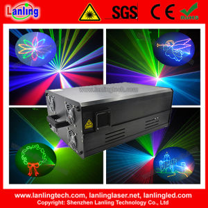 15W RGB Laser Show Stage Lighting pictures & photos