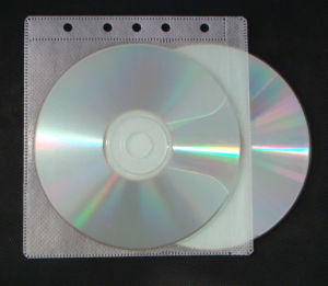 Non-Woven CD Binder Sleeve with 5 Hole