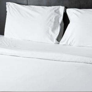 "White Cotton T-200 Twin Size Hotel Linen Pillow Cases 20""X30"" pictures & photos"