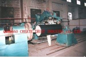 Advanced Technical Rubber Roller Extruder/Rubber Roller Extruding Machine pictures & photos