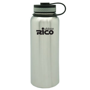 Stainless Steel Vacuum Sports Bottle with Loop 1200ml pictures & photos