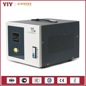 Best Seller Single Phase Servo Type Automatic Voltage Stabilizer Colurful Display pictures & photos