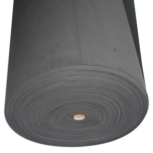 Black Color EVA Foam Material for Shoe Manufacturing in Roll pictures & photos