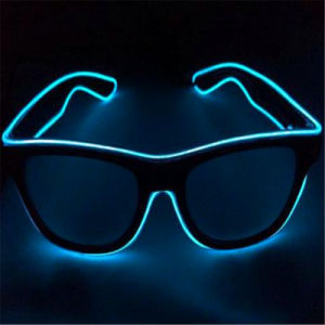 Sound Reactive LED EL Sunglasses pictures & photos