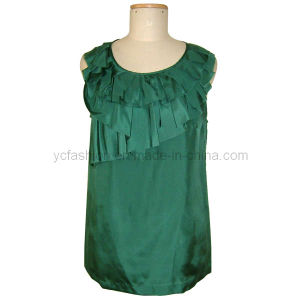 Ladies Silk Habotai Top
