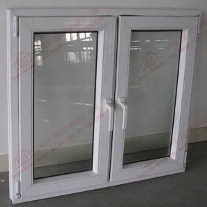High-Class PVC Flush Casement Window (BHP-CW14) pictures & photos