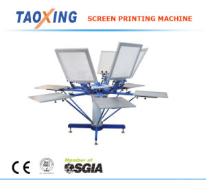 T Shirt Screen Printing Machine (6 Colors)