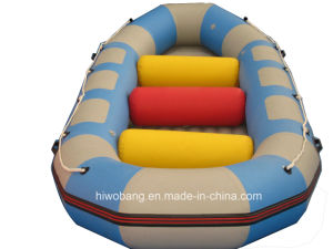 Colorful Rafting PVC Water Fly Inflatable Boat with Airpillow pictures & photos