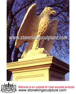 Natural Marble Eagle Sculpture (SK-1179) pictures & photos