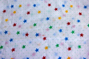 Softable Cotton Gauze Diaper with Star Print pictures & photos
