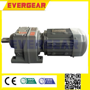 R Series Coaxial Helical Gear Box with Motor pictures & photos