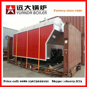Textile/Paper/Food Industry Used Steam Boiler 1 Ton Wood Boiler pictures & photos