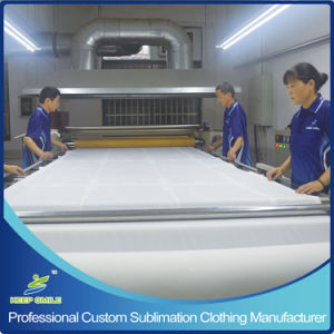 Custom Dye Sublimation Printing Polo T Shirt for Knitted Clothing pictures & photos