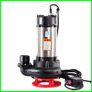 Wq Sewage Pump with Sewage Submersible Pump pictures & photos