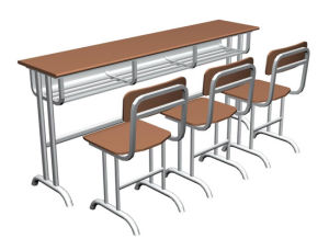 Three-Seat Desk (XH-2020)