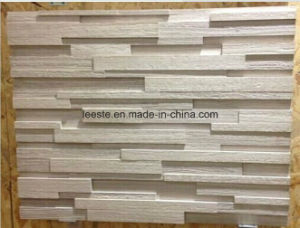 White Wooden Marble Cultural Stone, Ledge Stones for Wall Cladding pictures & photos