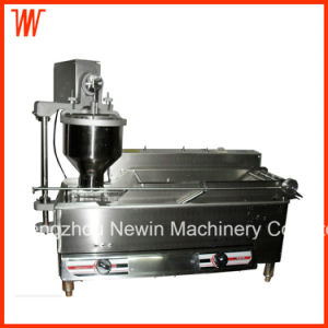 Electric and Gas Heating Industrial Automatic Commercial Donut Machine Price pictures & photos
