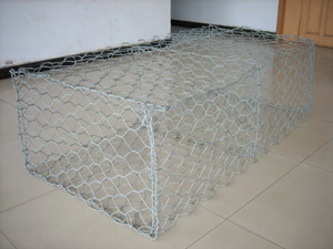 Gray Color PVC Coated Gabion Basket (R-SLW) pictures & photos