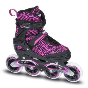 Big Wheel Semi Soft Adjustable Inline Skate (SS-97A-3 BW) pictures & photos