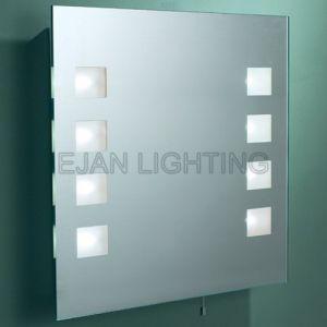 T5 Fluorescent Bathroom Mirror Light CE IP44 Lighted Mirror