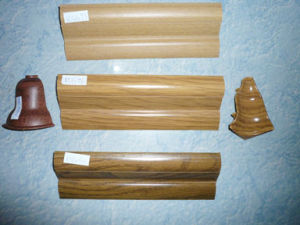 PVC Skirting and Accessories for Laminate Flooring 3 pictures & photos