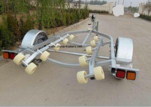 Jet Ski Trailer (milk yellow roller) pictures & photos