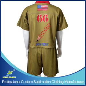 Custom Full Sublimation Men′s Lacrosse Uniforms pictures & photos