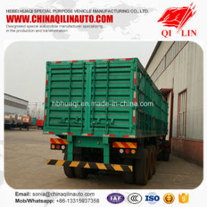 Cheap Price 12 Wheels Cargo Box Fence Semi Trailer pictures & photos