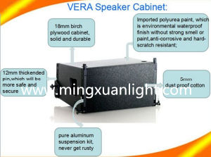 Vera Series 12′′ and 18′′ Professional Line Array Speaker System pictures & photos