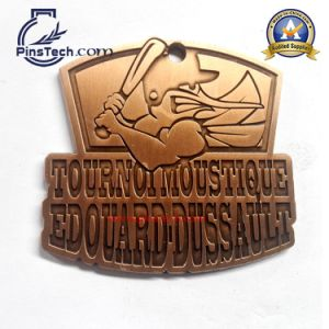 Custom Sport Medal Awards with Antique Bronze Finish