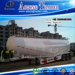 100 Tons W Shaped Cement Bulker Tanker Truck Semi Trailer pictures & photos