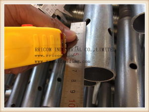 Galvanized Scaffolding Hollow Type Screw Jack pictures & photos