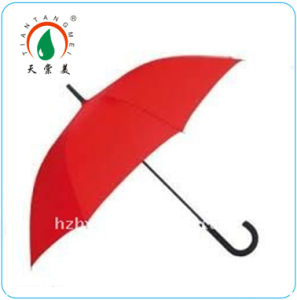 Red Straight Umbrella