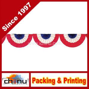 Patriotic Crepe Paper Bunting (420028) pictures & photos