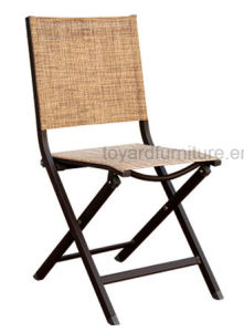 Outdoor Beach Yard Pool Sling Back Chairs Patio Garden Folding Chairs Space Saving Chair pictures & photos