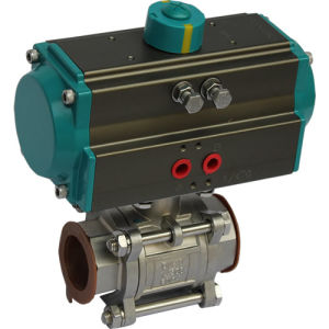 Ball Valve Pneumatic Actuator pictures & photos