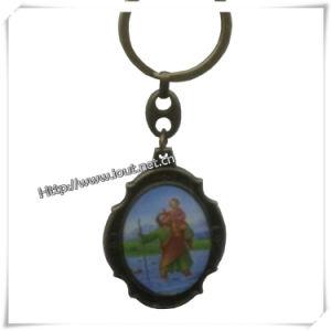 2014 High Quality Custom Religious Key Chain (IO-ck075) pictures & photos