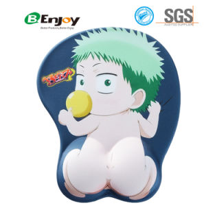 Hot Anime Sexy Girl Soft Breast 3D Silicone Mouse Mat pictures & photos