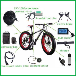 Czjb Wholesale Rear 48V 1000W Electric Bike Conversion Kit pictures & photos