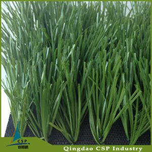 Chinese Popular 2 Green Color Soccer Artificial Grass pictures & photos