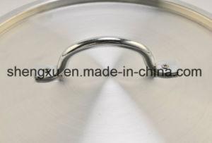 Non-Stick Ceramic Coated Aluminum Sauce Pot Energy-Saving Pot Cookware Sets Sx-A004 pictures & photos
