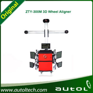 Zty-300m Wheel Alignment Automatic Tracking Deluxe Edition Testing on All Height pictures & photos