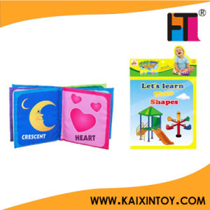Baby English Learning Educational Cloth Book for Sale pictures & photos