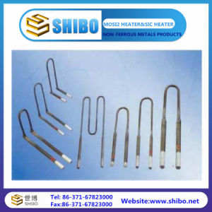 Different Size and Low Price of Molybdenum Disilicide Heating Elements pictures & photos