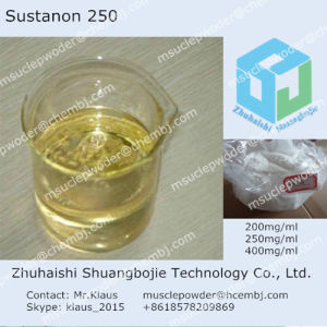 Clearly Semi-Finished Oil Sustanon 250mg/Ml Injected Steroid