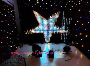 3*4 RGB LED Video Curtain with CE pictures & photos