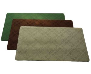 Natural Rubber Door Mat, Flocked, Soft Feet Touch 008 pictures & photos