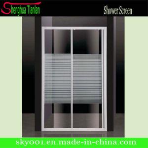 Hot Bathroom Aluminum Glass Sliding Shower Door (TL-411) pictures & photos