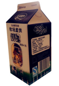 236ml Gable Top Box/Carton for Fresh Milk/ Juice/Cream/Wine/Yoghurt/Water pictures & photos